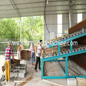 Rotary Veneer Cutting Machine