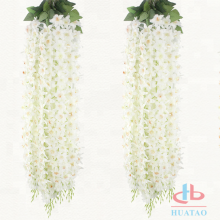 Artificial silk hanging decoration artificial flowers