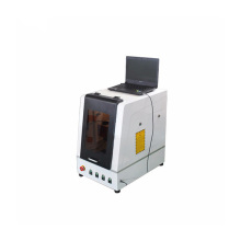 Enclosed Portable Fiber laser engraving machine for metal