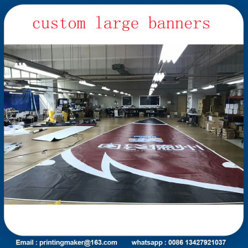Large Size Custom Fireproof Advertising PVC Banners