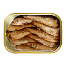 Africa sardines in canned food