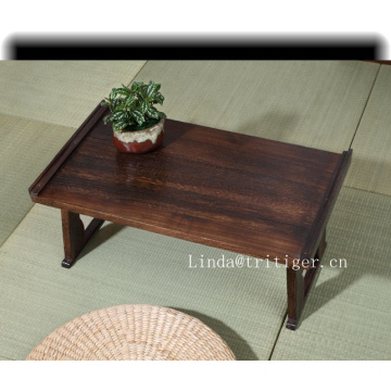 Factory direct cheap japanese folding tea table wood classic disdressed coffee table