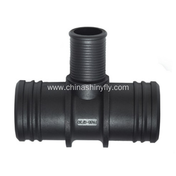 Rubber Hose Connector T Type