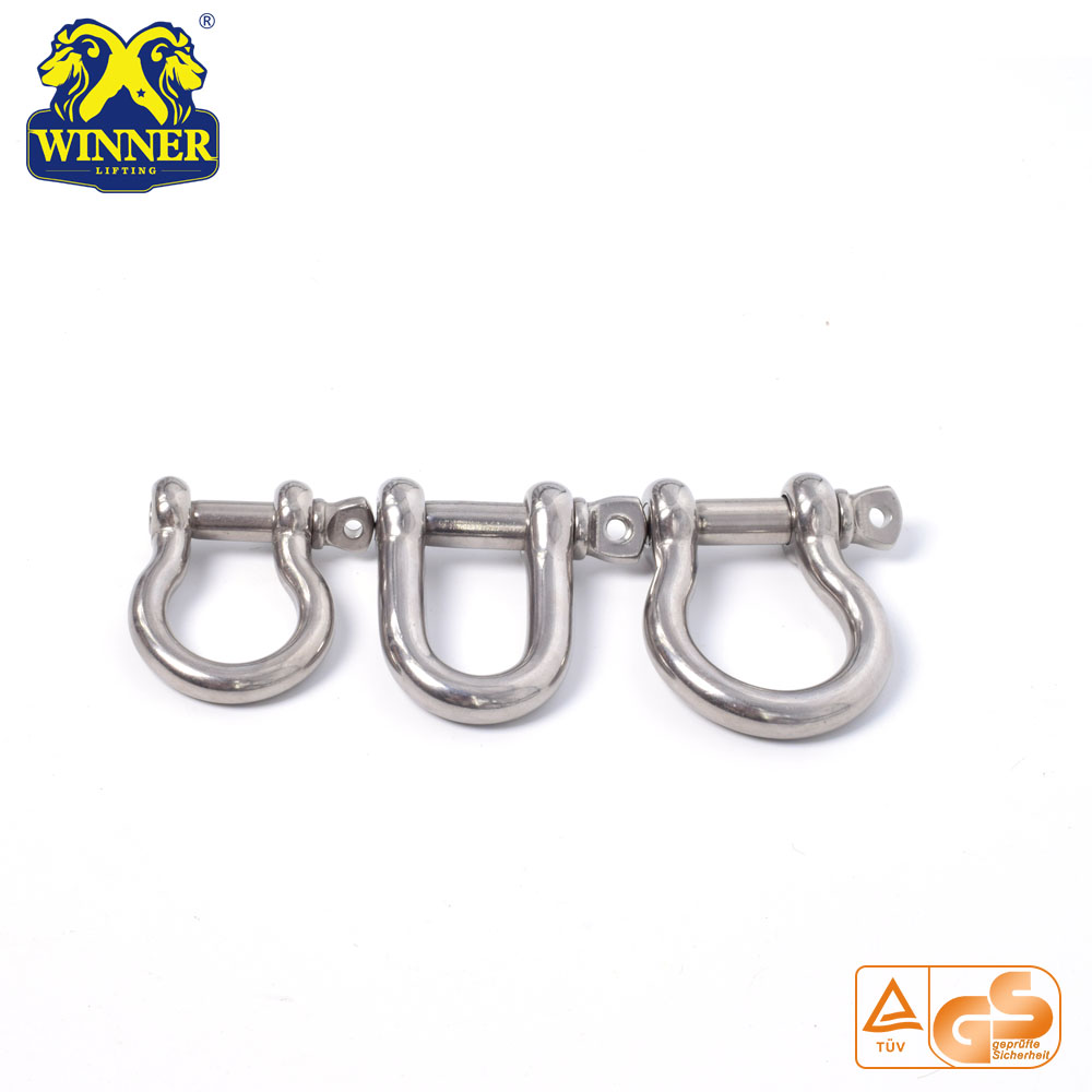 Stainless Steel Shackle Heavy Duty U Shackle