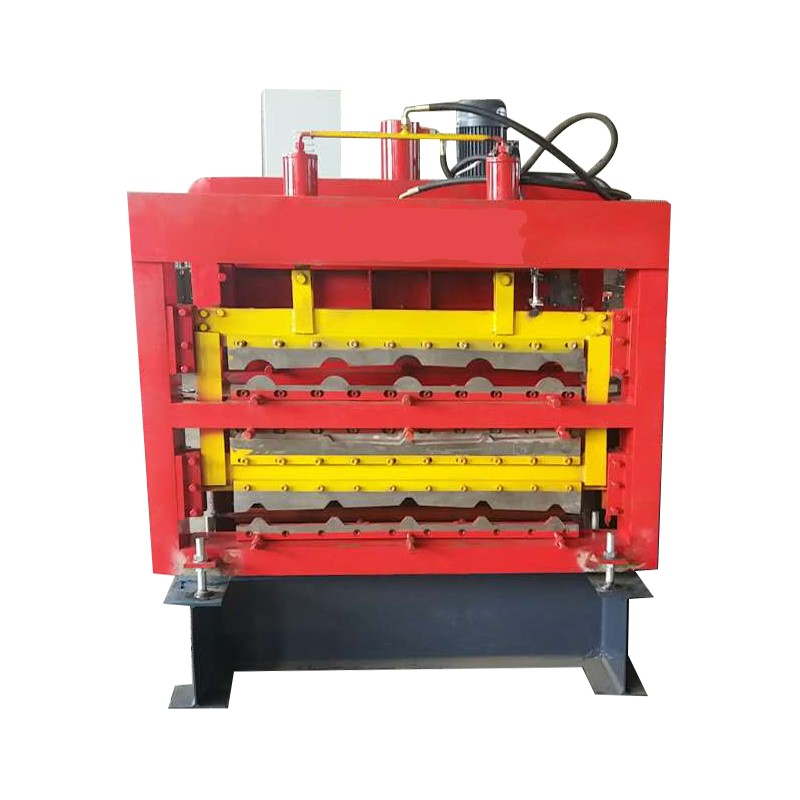 Three Layer Tile Roll Forming Machine