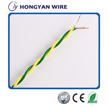 Copper-core PVC insulated twisted joint soft wire