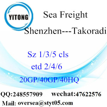 Shenzhen Port Sea Freight Shipping To Takoradi