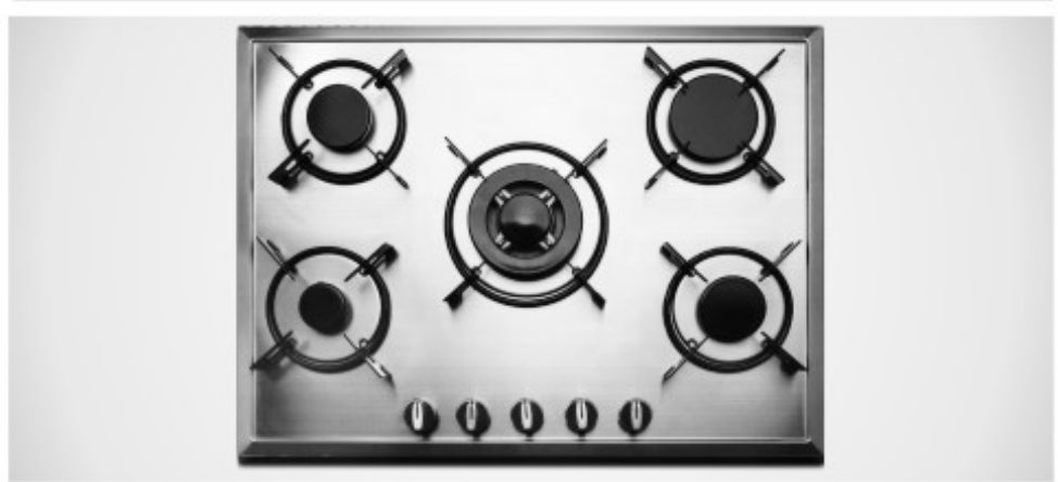 Built in 5 Burners Gas Hob
