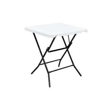 Plastic Square Banquet Folding Small Dining Table