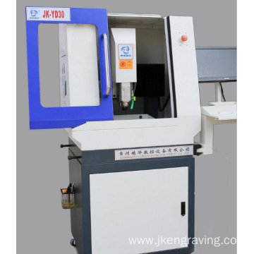 Strong Bed Structure CNC Stamp Engraving Machine