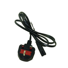 UK Plug 2 Prong AC Power Cable