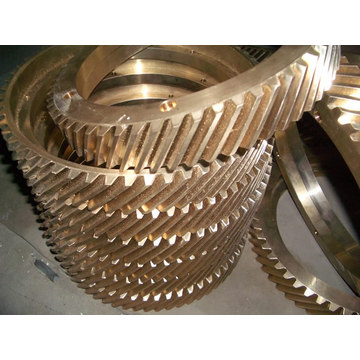 OEM/ODM for Machined Parts CNC Turning Machining Copper Bronze Big Copper Gear export to Costa Rica Factories