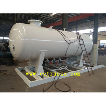 10cbm 5 MT Skid Mounted LPG Tanks