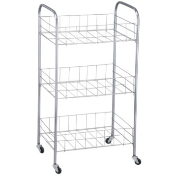 4 Wheels Storage Trolley