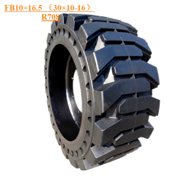 Solid Skid Steer Tire FB10×16.5 (30×10-16) R708