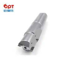 PCD milling ball cutter force for gear cutting
