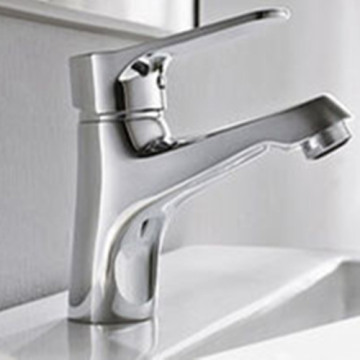 Handy High Brass Chrome Basin Mixer