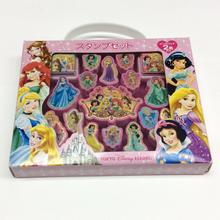 Good Quality for Kids Stationery plastic Disney princess portable stamp set supply to Spain Manufacturer
