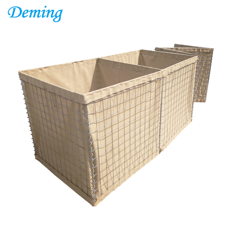 military hesco bastion perimeter barrier defense wall