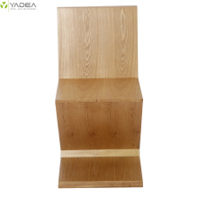 Supply for Ashwood Dining Chair Rietveld natural wood zig zag chair supply to Germany Manufacturer