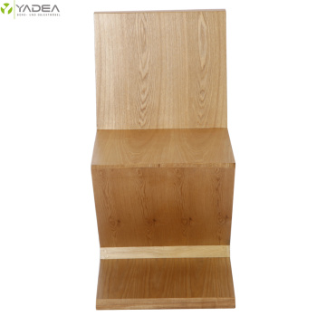High quality factory for Wood Dining Chair Rietveld natural wood zig zag chair supply to United States Manufacturer