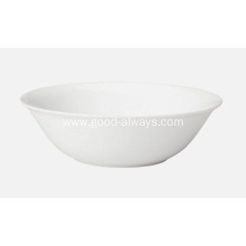 9 Inch ,23cm White Porcelain Round Serving Bowl