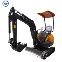 Best Price for for Excavator Machine 1.5Ton crawler Excavator mini digger sales supply to Yugoslavia Suppliers