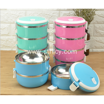 European Style Stainless Steel Thermal Lunch Box