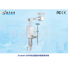 Electric single arm anesthetic medical pendant