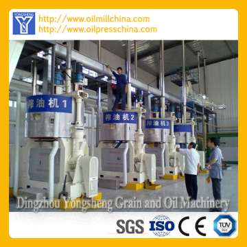 Hot/Cold Sunflower Oil Pressing Equipment