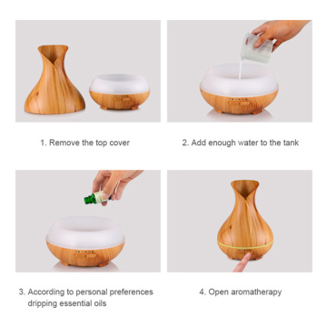 Ultrasonic Usb Portable Aroma Essential Oil Diffuser