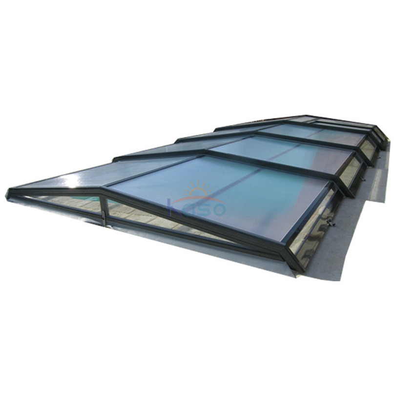 Screen Dome Cover Retractable Pool Roof China Manufacturer