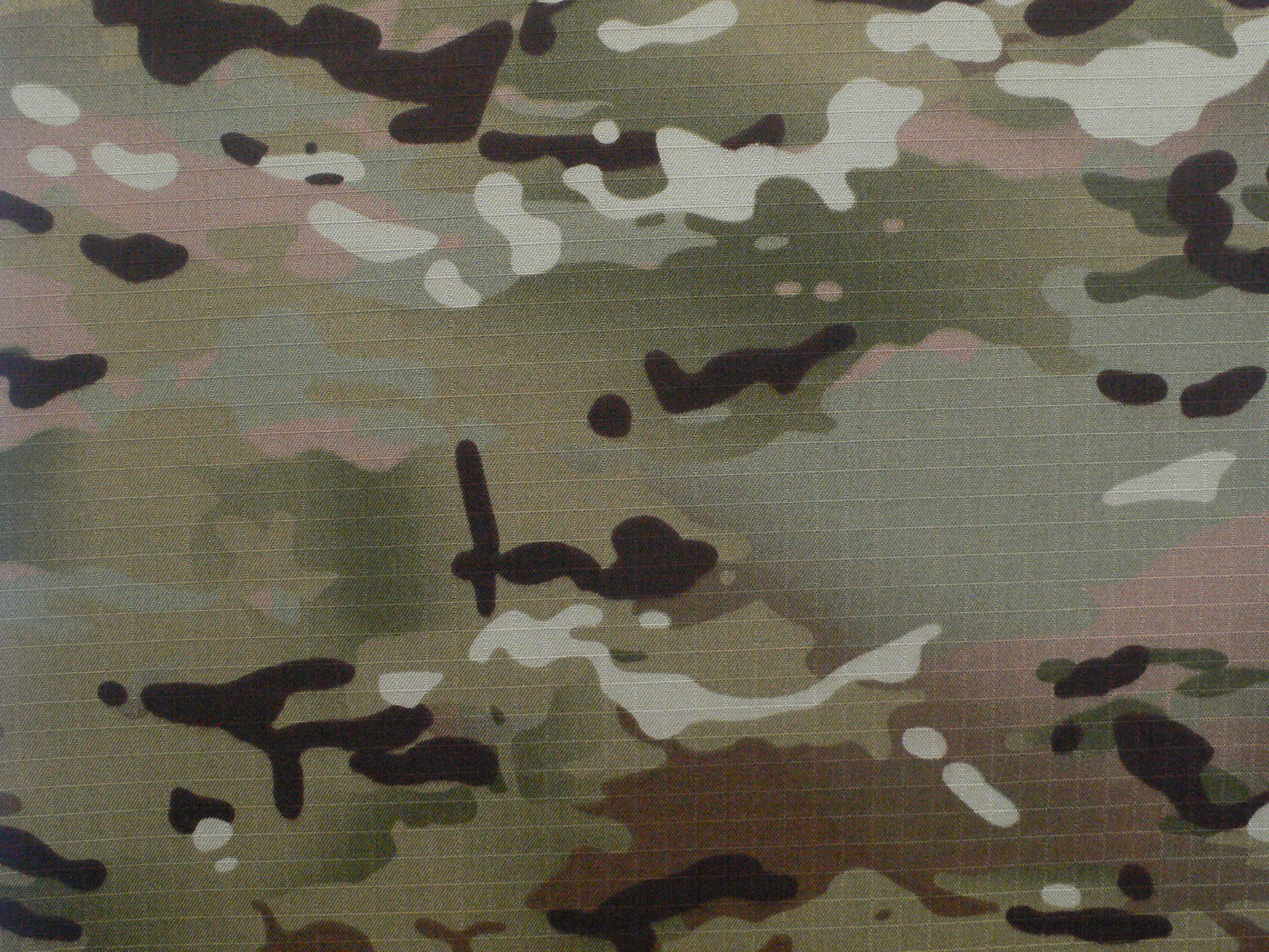 Rip-Stop CVC Woodland Camouflage Fabric for Field Uniform