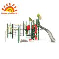Natural Amusement Outdoor Playground Equipment For Children