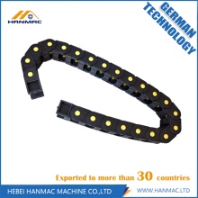 Customized for CNC Machine Drag Chain Low-noise Electric Nylon Cable Drag Chain export to Greenland Manufacturer