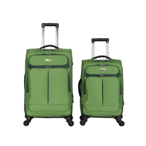 Nylon Polyester 1680D Fabric Make-Up Luggage sets