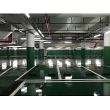 Garage high strength epoxy flat topcoat