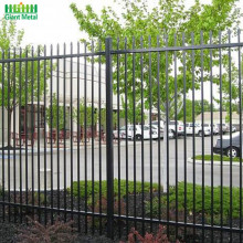 Forged Spear Tops Metal Ornamental Wrought Iron Fence