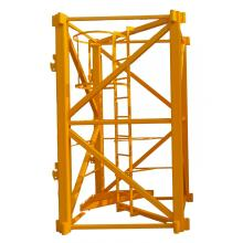 China for Tower Crane Platform Square Tube Tower Crane Parts Mast Section supply to Liberia Importers