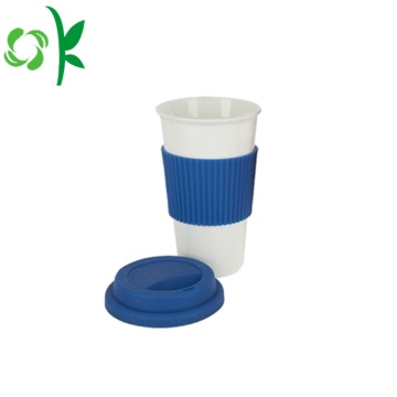 Glass Bottle Silicone Protector with Sleeve