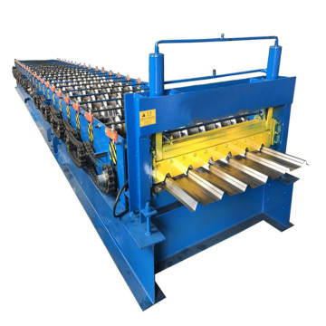 Container sleter panel making machine