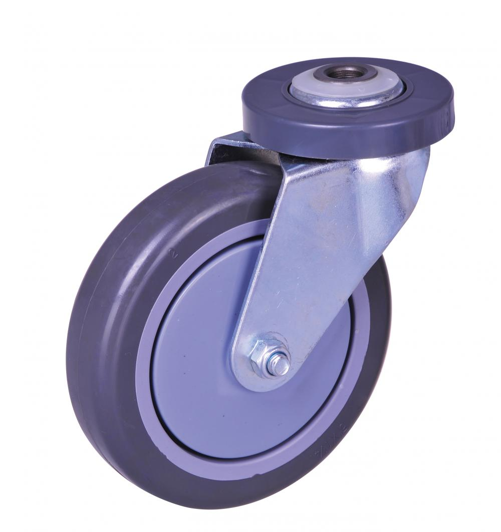 5inch elevator caster with pu wheel