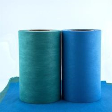 PE film lamination spunlace for surgical drape/gown