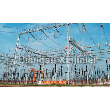Renewable Design for China Substation Structure, Substation Steel Structure, Steel Tubular Substation Structures Suppliers and Manufacturers 220-500kV Substation Steel Structure supply to Gibraltar Suppliers