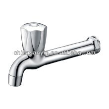Wall Mounted Long Neck Sink Bibcock Faucet
