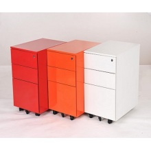 3 drawer steel file cabinet vertical pedestal