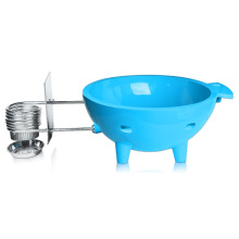 Waltmal Outdoor Hot Tub in Sky Blue