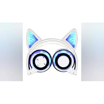 Hot Selling for for Cat Headphone New Hot Sale wireless cute Cat Ear Headphones supply to Kenya Supplier