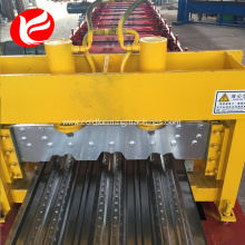 Floor deck panel cold steel roll forming machine