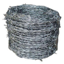 Galvanized 12 gauge Barbed Wire